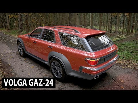 Volga GAZ 24 new Russian crossover car (Auto New)
