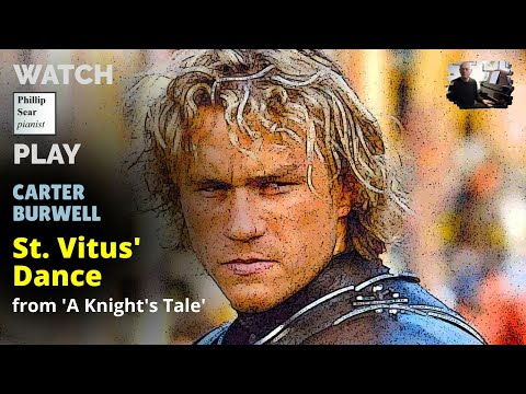 Carter Burwell : St Vitus' Dance (from movie score to ' A Knight's Tale ')