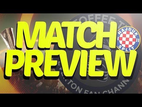 Everton V Hajduk Split | Europa League Play Off 1st Leg | Match Preview