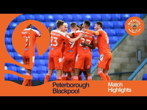 Peterborough Blackpool Goals And Highlights
