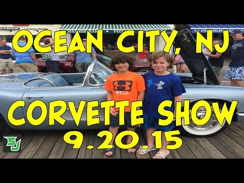 Day Trip: Ocean City, NJ Boardwalk Corvette Show 9.20.15
