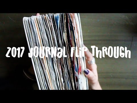 Full 2017 Journal Flip Through