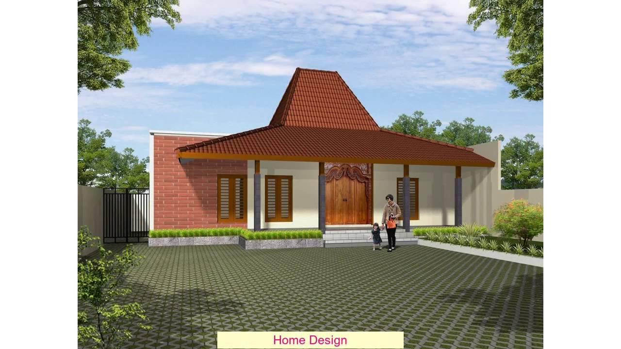 Desain Rumah Joglo Youtube 2 Lantai