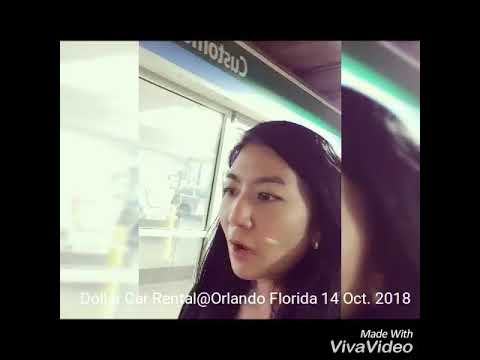 Dollar Car Rental@Orlando Florida 14 Oct. 2018