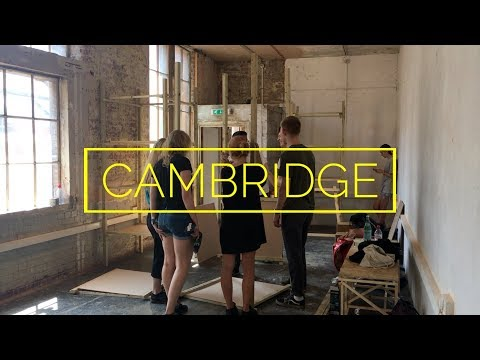 ArcSoc Exhibition Building || Cambridge Vlog 43