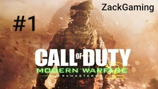 Call Of Duty Modern Warfare 2 Mission 3 -  Cliffhanger