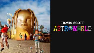 Travis Scott - Carousel [Feat. Frank Ocean] ASTROWORLD (Official Lyrics)