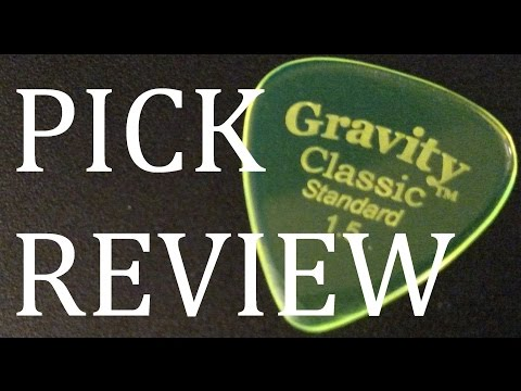 Gravity Classic Standard 1.5mm Guitar Pick Review & Demo
