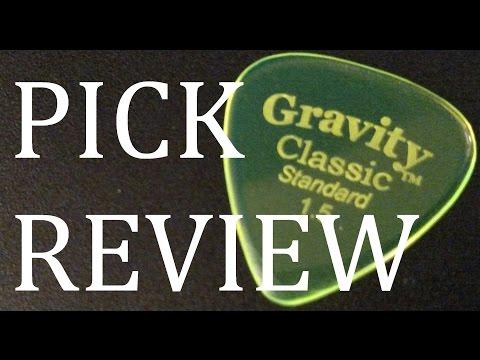 Gravity Classic Standard 1.5mm Guitar Pick Review & Demo