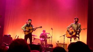"The Avett Brothers - ""The Once and Future Carpenter"" Charlotte, April 9th 2011"