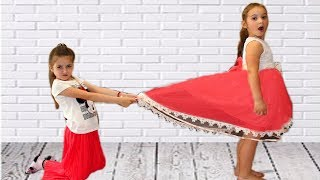 Masha & Anna both want the same dress