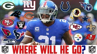 2019 NFL FREE AGENCY PREDICTIONS Landon Collins Giants Colts Cowboys Chiefs Redskins Raiders Texans
