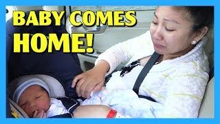 One of AprilJustinTV's most viewed videos: Baby Comes Home! - AprilJustinTV