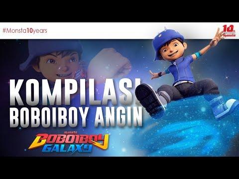 KOMPILASI BOBOIBOY ANGIN - BOBOIBOY GALAXY