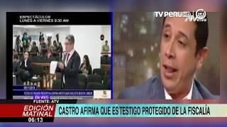 Miguel Castro revela ser el testigo protegido del caso contra Keiko Fujimori