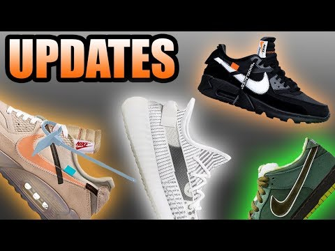 Yeezy 350 REFLECTIVE STATIC Release Date   Off White Air Max 90   Sneaker Updates 18