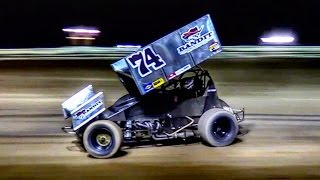 Arizona Speedway Winged Sprint Car Feature