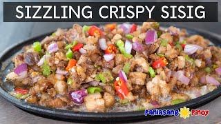 Sizzling Crispy Sisig