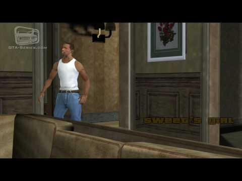 GTA San Andreas - Walkthrough - Mission #8 - Sweet's Girl (HD)