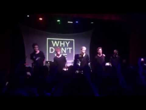 """WHY DON'T WE-- """"Something Different"""" Salt Lake City Pop-up Show"""