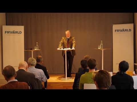 Lars Fredén om regeringens nya Kinastrategi