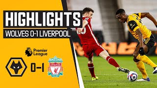 A narrow defeat at Molineux | Wolves 0-1 Liverpool | Highlights