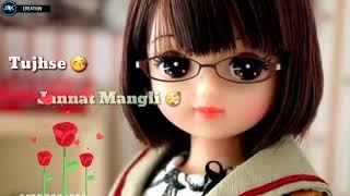Manga Jo Mera Hai Jata Kya Tera Hai | Romentic status😍 | Aaj Din Chadya|| Patel Boy ||