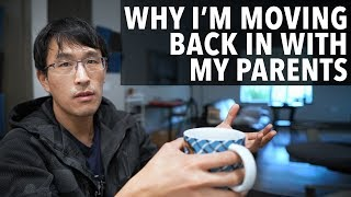 Why I'm moving bąck in with my parents. (as a millionaire)