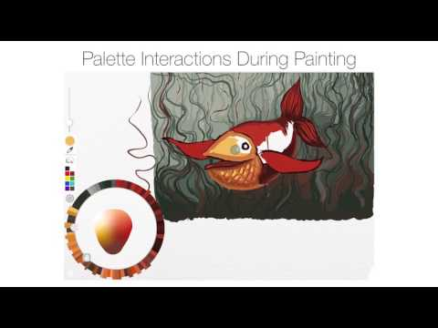 Adobe brilliantly reimagines the color picker as an artist's watercolor palette