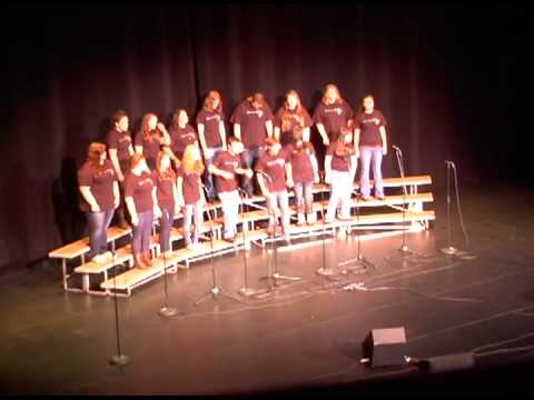 2013 Voices of the 603 - Ahwooh! cappella (Prospect Mountain High School)