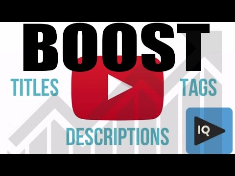 How to Boost Videos On Upload with vidIQ for More Views Mp3