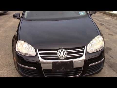 2006 VW Jetta Sedan Black for sale