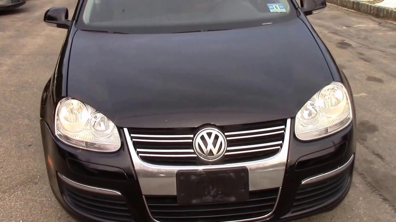 VW 06 vw jetta 2.5 : 2006 VW Jetta Sedan Black for sale - YouTube