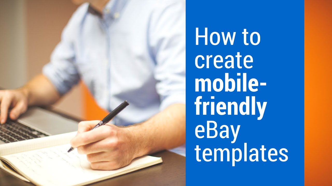 How To Create Mobilefriendly EBay Templates YouTube - Mobile friendly ebay template