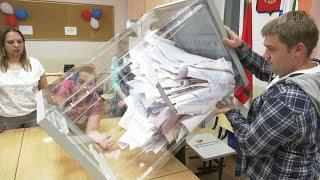 Центризбирком завершает подсчет бюллетеней единого дня голосования.