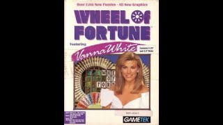 DOS Wheel of Fortune Featuring Vanna White Run Game #2