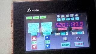 HMI Delta B07S411 connect to Temp Ctrl and Inverter by Modbus