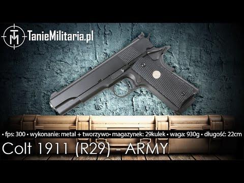 COLT 1911 (R29) ARMY - TANIEMILITARIA.PL