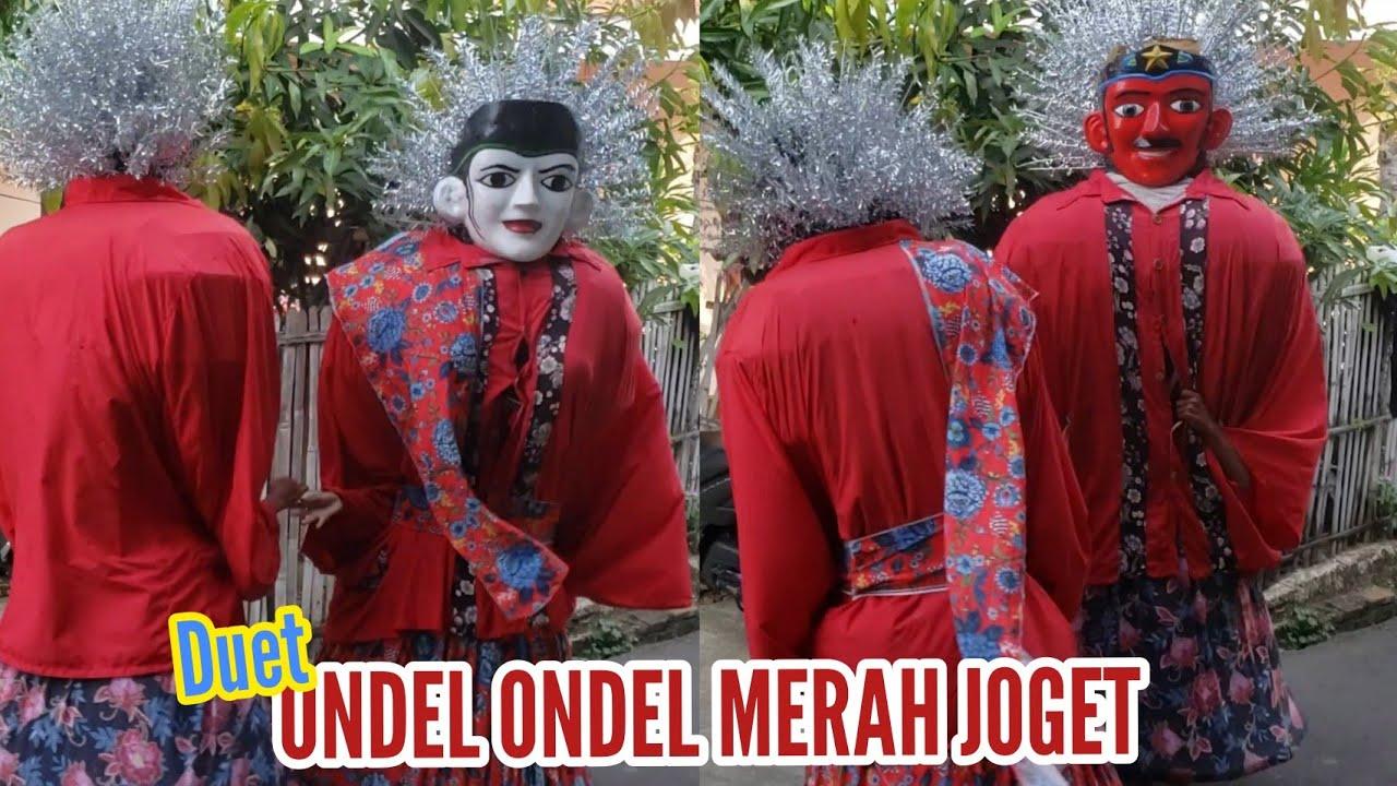 Duet Ondel Ondel Betawi Merah Joget   Nauraalby Vacation