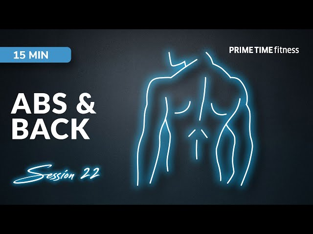 Live Workout Session - Abs & Back Vol.22
