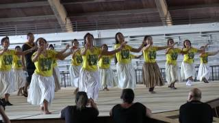 2017 march 25 halau k mm hoike stage practice