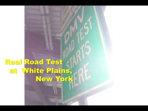 Road Test Ny Locations >> Dmv Real Road Test Film At White Plains Location New York Youtube
