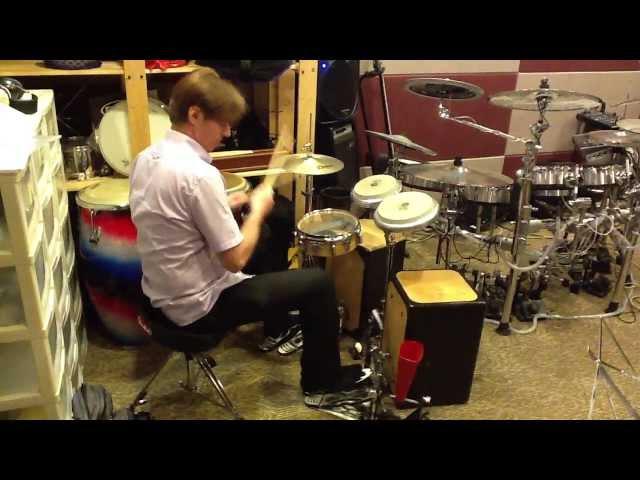 Cajon Drumset By Chris Brien The Box Kit