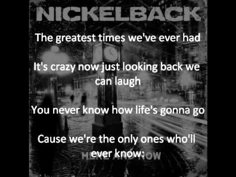 Nickelback - Dont Ever Let It End