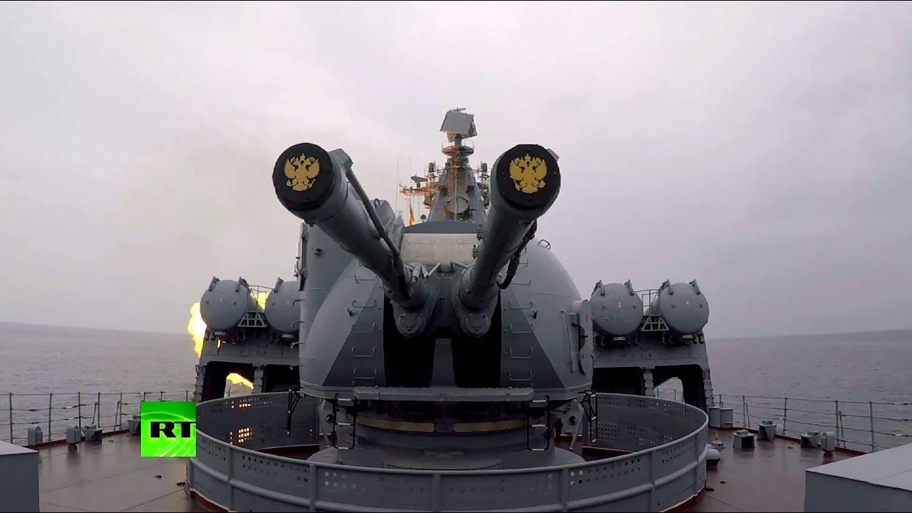 Корабли Тихоокеанского флота нанесли удары крылатыми ракетами по надводным целям