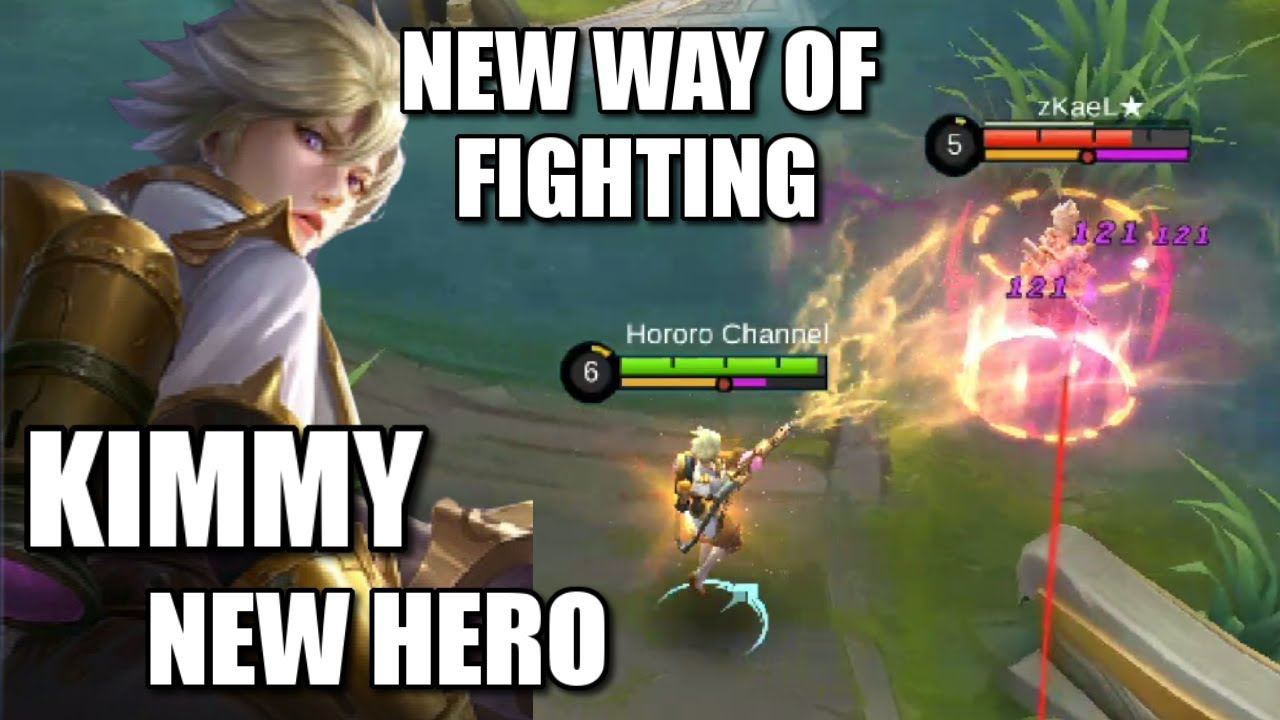 NEW HERO KIMMY WITH HER NEW WAY OF FIGHTING! MARKSMAN/MAGE HERO