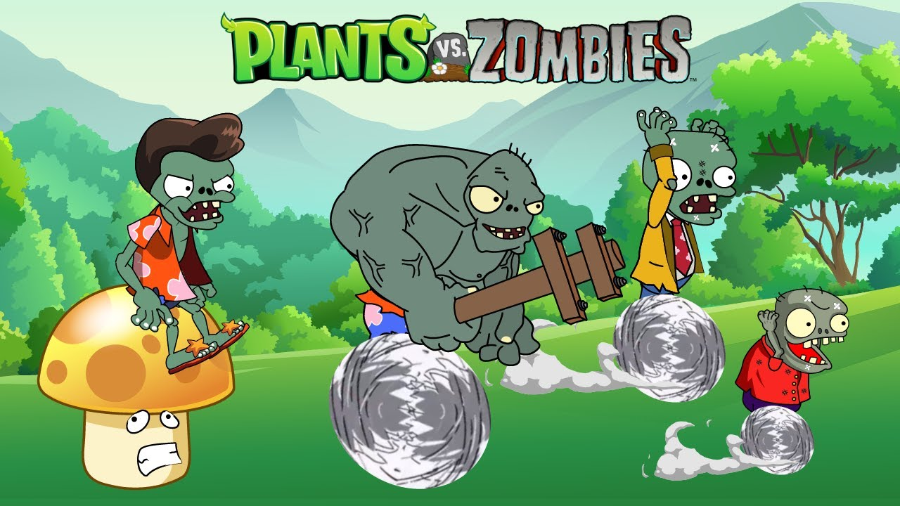 Plants vs. Zombies 2: Strongest Zombies Animation - pvz troll moments