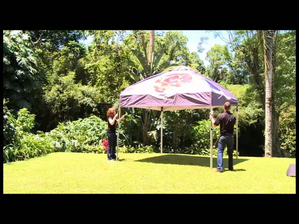 Ex Dome Gazebo Set Up Youtube