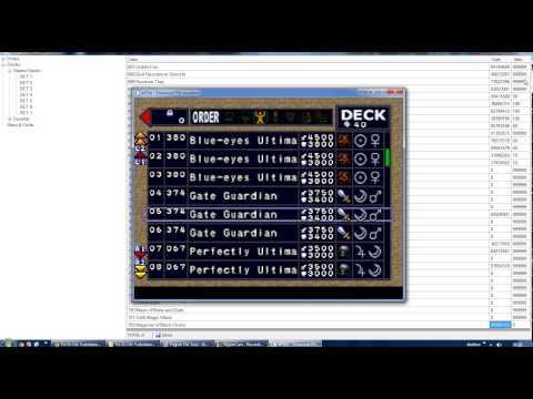 Yu-Gi-Oh! Forbidden Memories Tool - Hacking starter deck and passwords