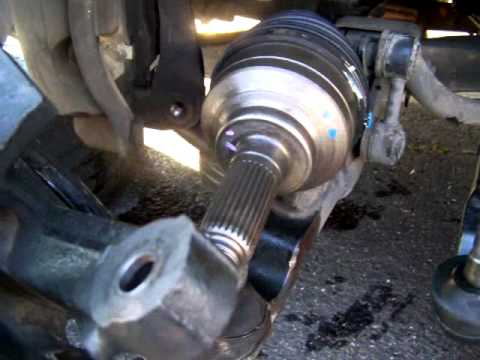Part 1, Axle replacement, Kia Sedona 2003  YouTube